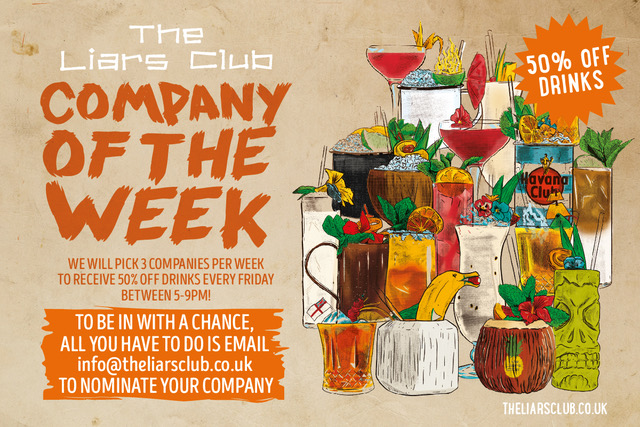 Company of the week - LIARS CLUB web